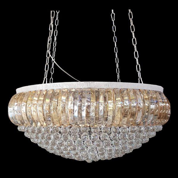Dome 1000mm crystal chrome pendant light lighting empire chandeliers dome 1000 chrome chandelier crpdom231000ch aloadofball Gallery