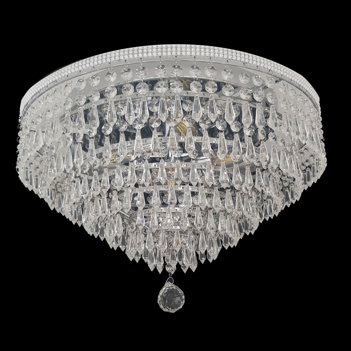 Lighting empire chandeliers waterfall 470 chrome ceiling light ctcwat05470ch arubaitofo Gallery