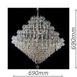 Diamante 690 Chrome Chandelier – CRPDIA14690CH