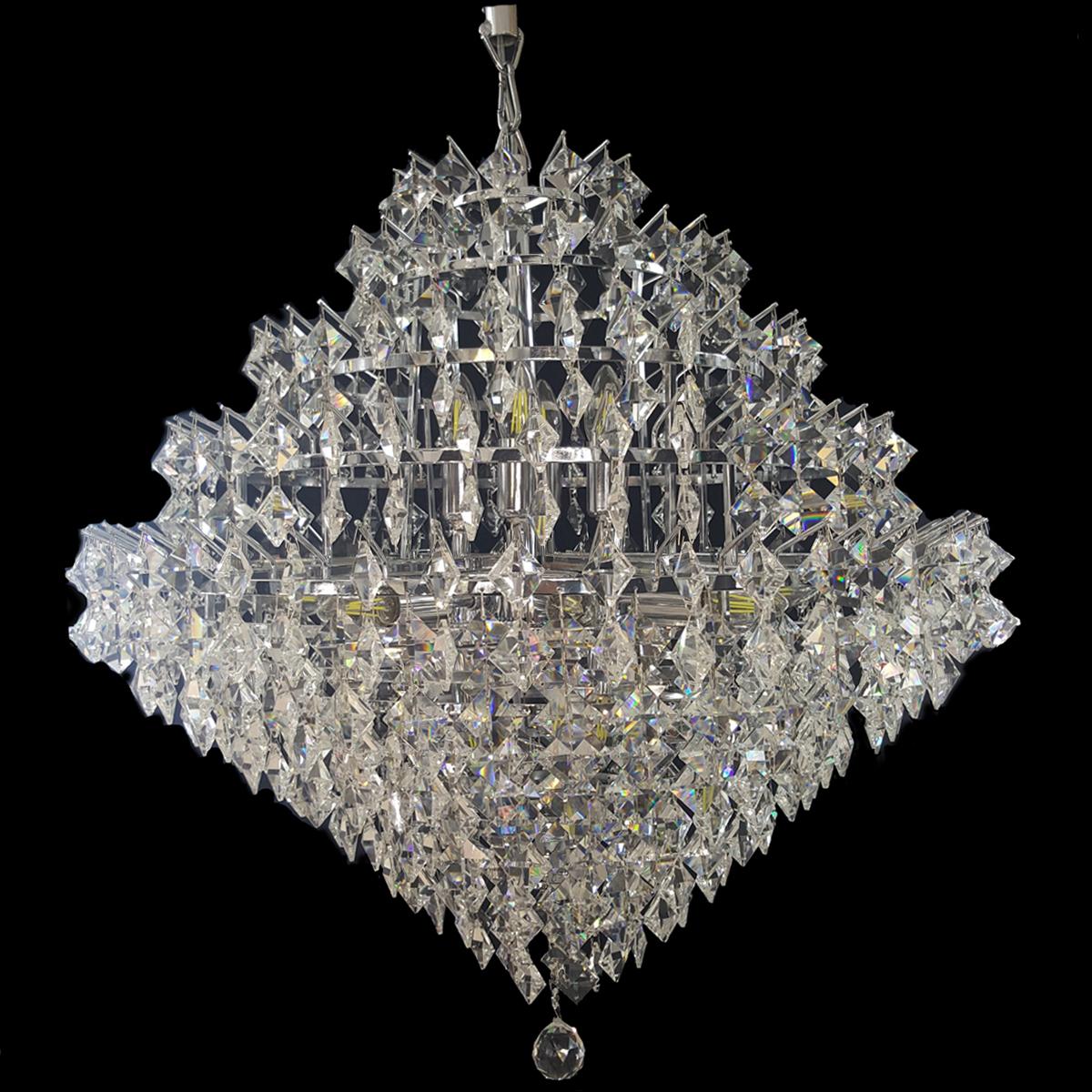 Diamante 690 Chrome Chandelier - CRPDIA14690CH