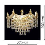 Bristol 270 Gold Wall Light – CRWBRI02270GD