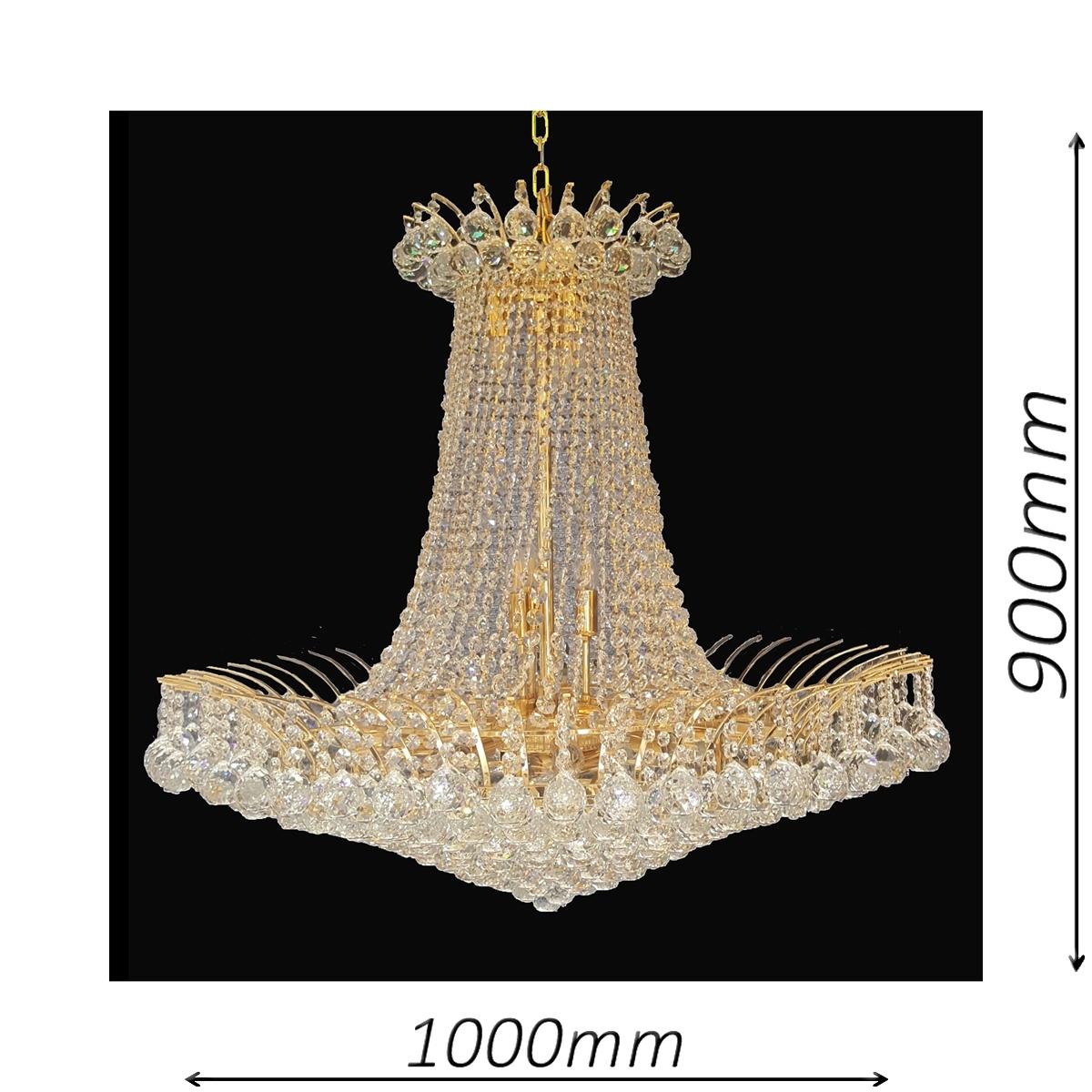 Devon 1000 Gold Chandelier - CRPDEV211000GD