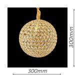 Norfolk 300 Gold Chandelier – CRPNOR01300GD