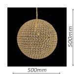 Norfolk 500 Gold Chandelier – CRPNOR01500GD