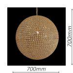 Norfolk 700 Gold Chandelier – CRPNOR05700GD