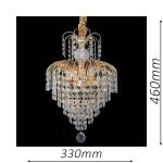 Waterfall 330 Gold Chandelier – CRPWAT03330GD