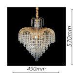 Waterfall 490 Gold Chandelier – CRPWAT05490GD