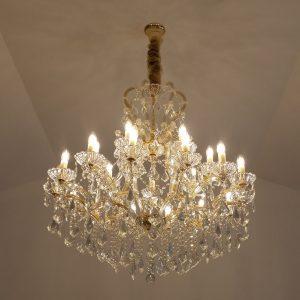 Buckingham 1010 Gold Chandelier - CRPBUC211010GD