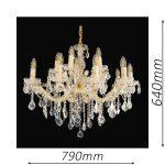Buckingham 790 Gold Chandelier – CRPBUC15790GD