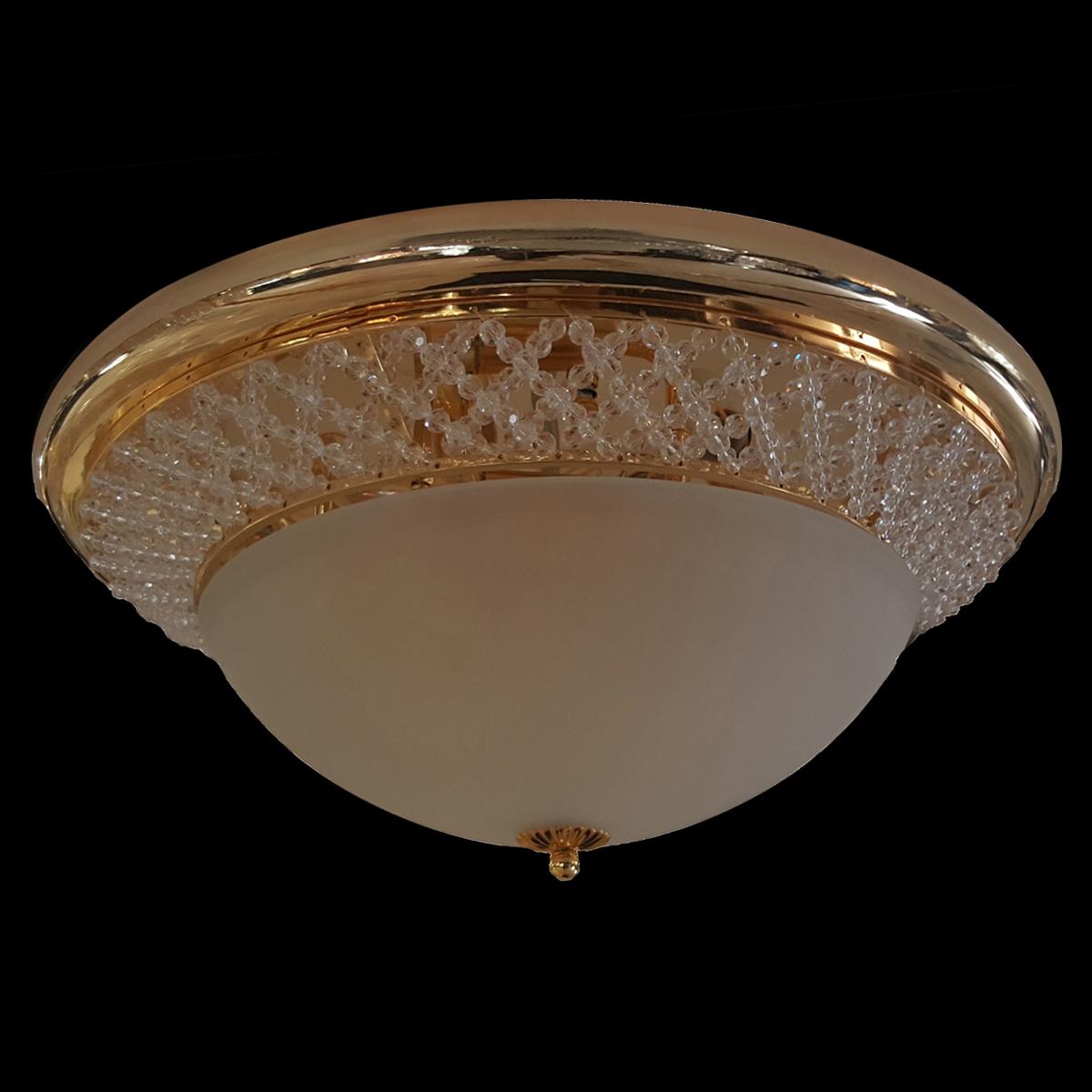 Dorset 380 Gold Ceiling Light - CTCDOR03380GD