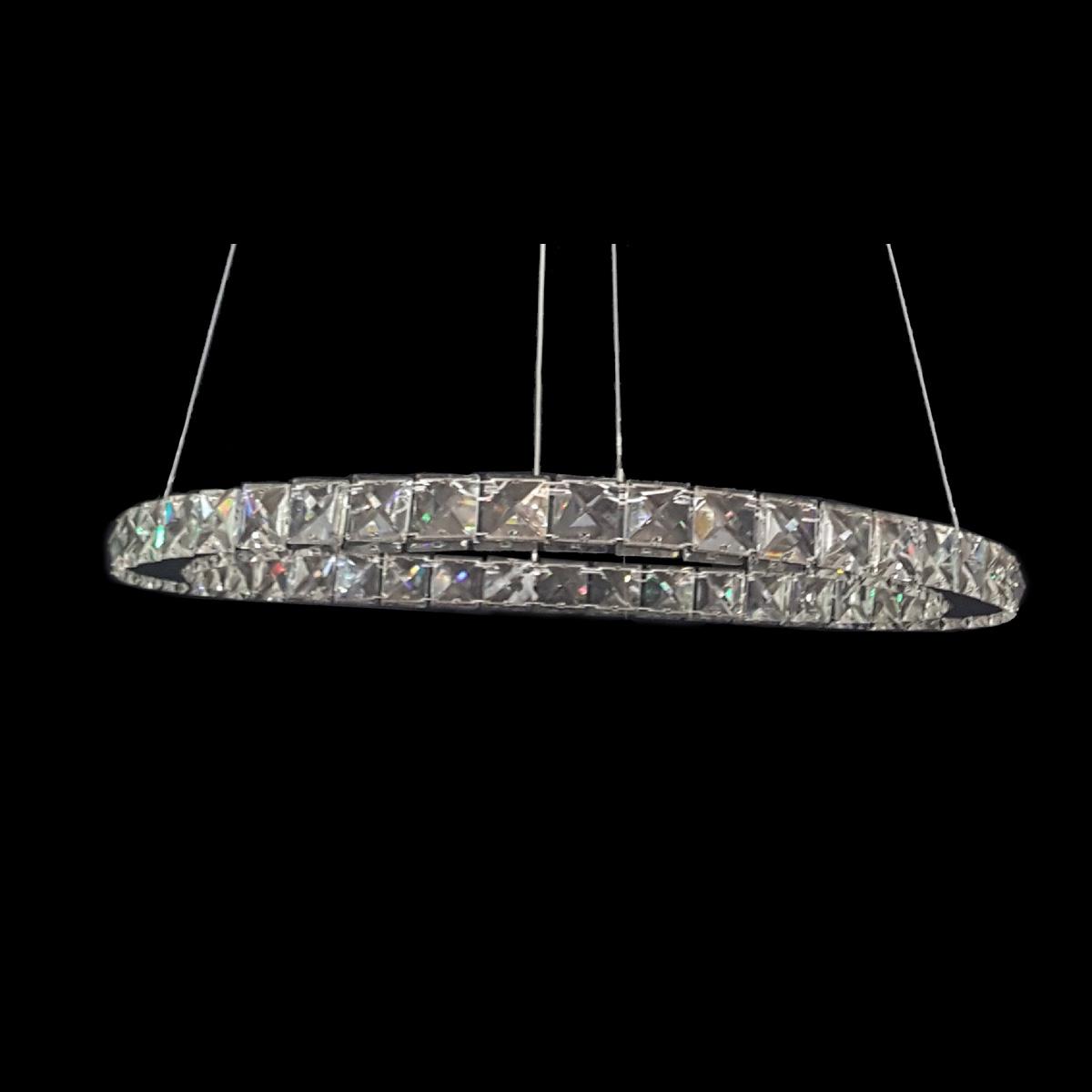 GALAXY 500 Warm White LED Crystal Pendant - LEDP1030WW