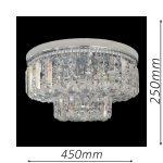 Kent 450 Chrome Ceiling Light – CTCKEN06450CH