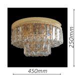 Kent 450 Gold Ceiling Light – CTCKEN06450GD