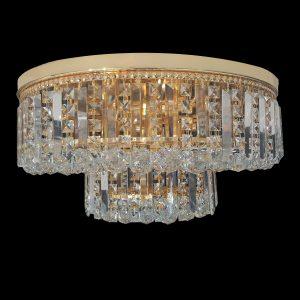 Kent 650 Gold Ceiling Light - CTCKEN11650GD