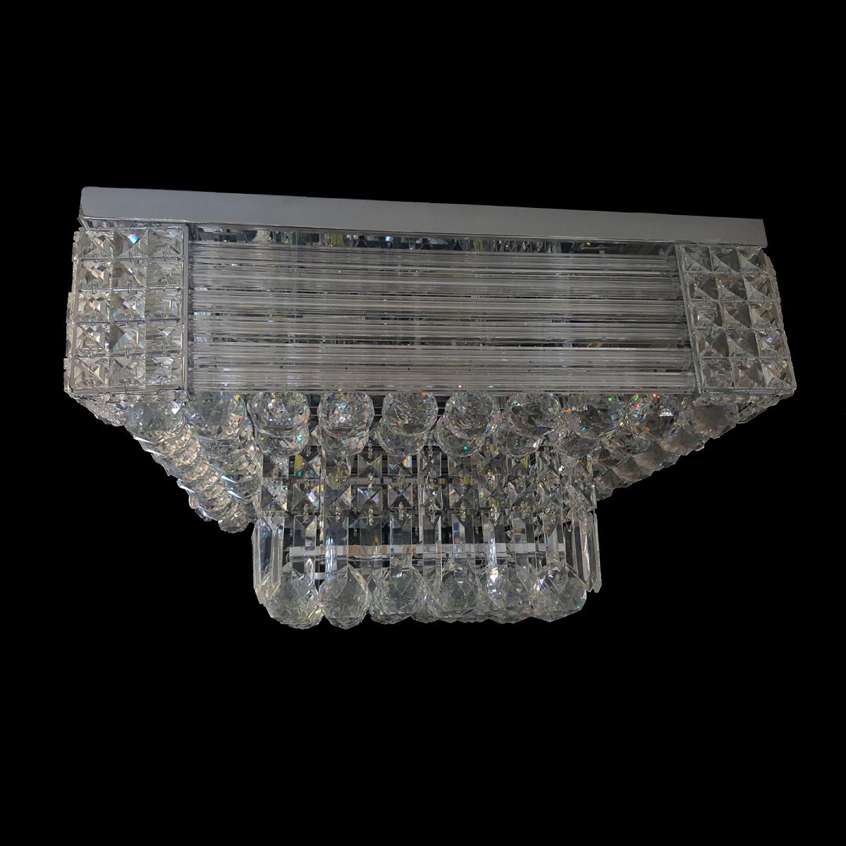 Midland 500 Chrome Ceiling Light - CTCMID12500CH