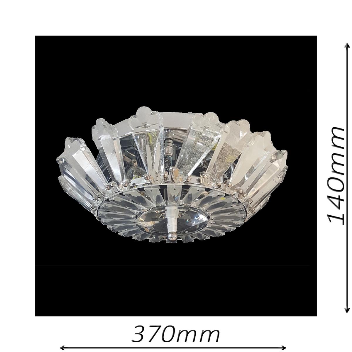 Spherical 370 Chrome Ceiling Light - CTCSPH03370CH