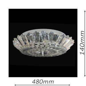 Spherical 480 Chrome Ceiling Light - CTCSPH06480CH