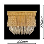 Stafford 400 Gold Ceiling Light – CTCSTA06400GD