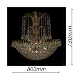 Surrey 800 Gold Chandelier – CRPSUR19800GD