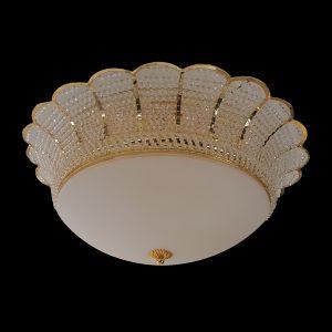 Tyne 550 Gold Ceiling Light - CTCTYN06550GD