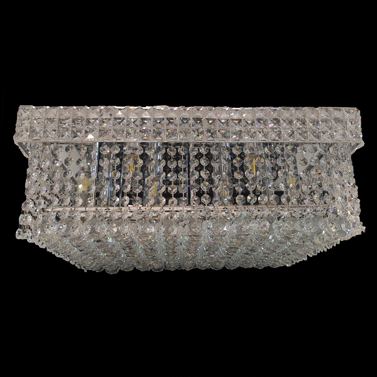 Wight 600 Chrome Ceiling Light - CTCWIG12600CH